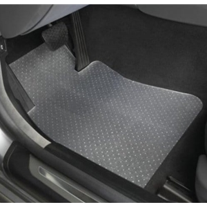 C6 Corvette Floor Mats Signature Rubber / Black 07.5-2013