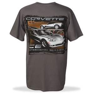 Corvette T-Shirt : Speeding Bullet C6