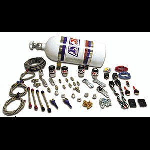 Corvette Dual Stage Nitrous Oxide Kit With 10 LB. Bottle (100HP-300HP) : 1997-2004 C5 & Z06