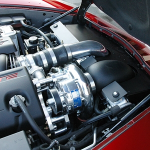 Corvette Supercharger Kit - WCC Exclusive Vortech : 2005-2013 C6