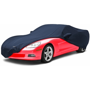 Corvette Car Cover - Designer Embossed C6 Logo : 2005-2013 C6