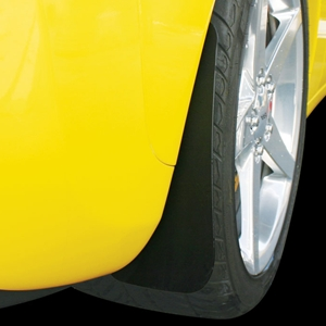 Corvette Splash Guard Kit Front and Rear : 2005-2013 C6