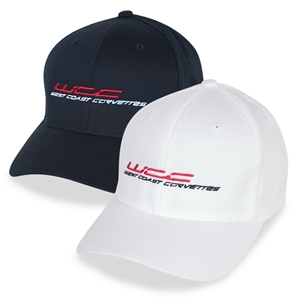 West Coast Corvette Embroidered Flex-Fitted Hat