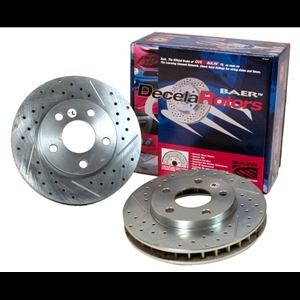 Corvette Brake Rotor Package - Baer Sport Rotors (Set) : 1997-2013 C5 & C6