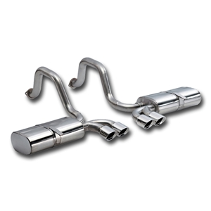 "Corvette Exhaust System Corsa Indy (Sport) Pace Car - Quad 3.5"" Pro Series Tips : 1997-2004 C5 & Z06"