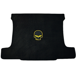 Corvette Cargo Mat - Jake Skull Logo - Coupe : 2005-2013 C6,Z06,ZR1,Grand Sport
