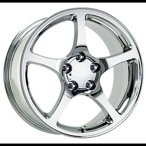 Corvette 2000-04  GM Chrome Wheel Exchange