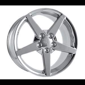 Corvette Chrome Wheel Exchange GM (Set) 18x8.5/19x10 : 2005-2007 C6