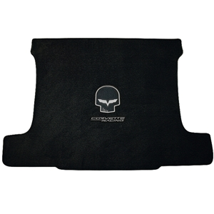 Corvette Cargo Mat - Jake Skull and Racing Script - Convertible : 2005-2013 C6