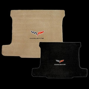 Corvette Cargo Mat with C6 Emblem and Corvette Script - Convertible : 2005-2013 C6