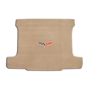 Corvette Cargo Mat with C6 Emblem Only - Coupe : 2005-2013 C6