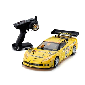 Corvette C6R Nitro with 2.4GHz Remote Control (1:10 Scale) : C6 2005-2013