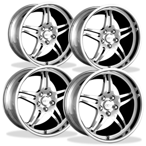 Corvette Wheels Custom - 1-Piece Forged Aluminum (Set) : Style 505A