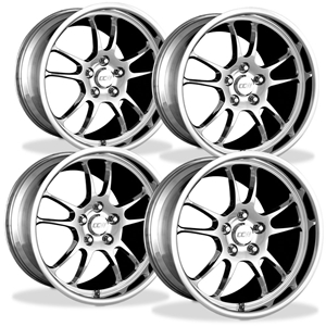 Corvette Wheels Custom - 1-Piece Forged Aluminum (Set) : Style T10