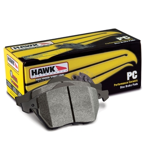 Corvette Brake Pads - Hawk Ceramic - Front : 1997-2013 C5,C6