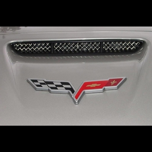 Corvette RaceMesh Air Intake Nose Scoop Grille : C6 Grand Sport