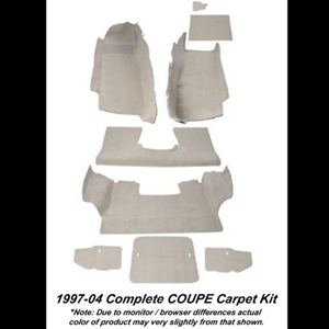 Corvette Carpet Kit Replacement for Coupe : 97-04 C5