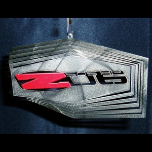 "Corvette C6 Z06 Logo Wind Spinner 12"" : 2006-2013"