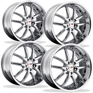 Corvette SR1 Performance Wheels - APEX Series (Set) : Chrome
