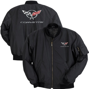 Corvette Jacket - Aviator Jacket with C5 Logo : 1997-2004