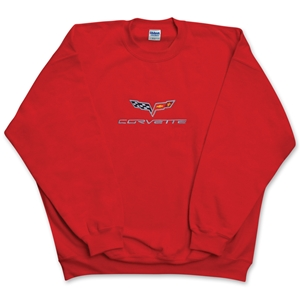 C6 Corvette Embroidered Fleece Sweatshirt