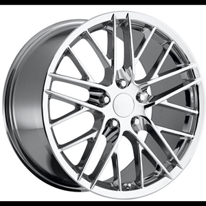 Corvette Wheel - 2009 ZR1 Style Reproduction : Chrome