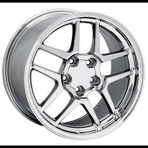 Corvette 97-04 Z06 Style Chrome Reproduction Rims
