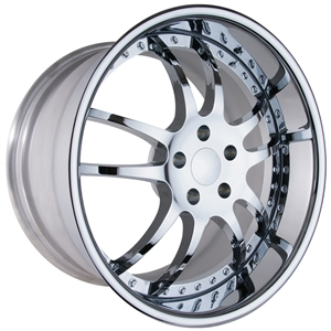 Corvette Custom Wheels - WCC 947 EXT Forged Series : Chrome