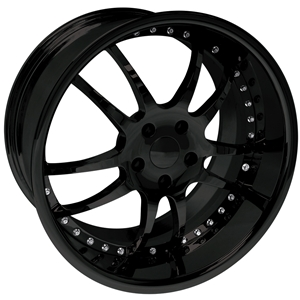 Corvette Custom Wheels WCC 947 EXT Forged Series : Black