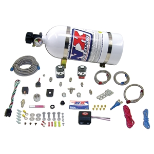 Corvette Nitrous Oxide - NX Fly by Wire Single Nozzle 35-150HP System w/ 10LB. Bottle and TPS Switch : 1997-2011 C5,C6,Z06,ZR1,Grand Sport