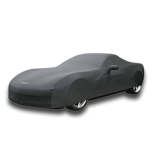 Corvette Car Cover - GM Dust Cover with Grand Sport Logo - Black : 2010-2011
