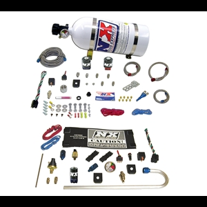 Corvette Nitrous Oxide - NX Stage II 35-150HP System w/ 10LB. Bottle and GENX-2 Kit : 1997-2011 C5,C6,Z06,ZR1,Grand Sport