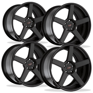 Corvette Custom Wheels WCC 835 3 Pc. Forged Series (Set): Silver Brushed 19x10/20x13 2006-2011 Z06,ZR1,Grand Sport