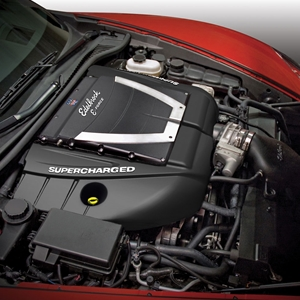 Corvette Supercharger Kit - Edelbrock E-Force (554HP) : 2010-2013 Grand Sport LS3 w/ Dry Sump