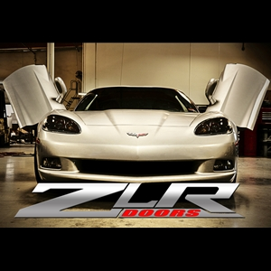Corvette Lambo Style Vertical Doors - ZLR Hinge Kit : 2005-2013 C6,Z06,ZR1,Grand Sport