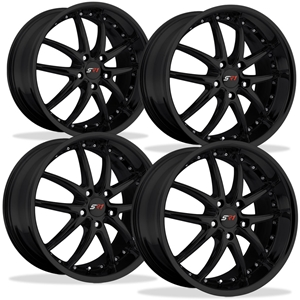Corvette SR1 Performance Wheels - APEX Series (Set) : Gloss Black