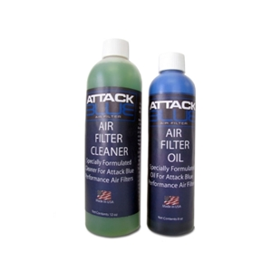 Corvette Air Filter Attack Blue High Performance - Cleaning Kit only
