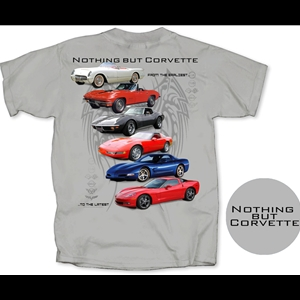 Corvette T-Shirt - Nothing But Corvette : Gray