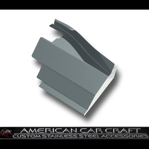 Corvette Battery Cover - Polished Stainless Steel : 2005-2007 C6