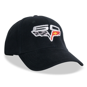 Corvette Hat with 60th Anniversary  Logo