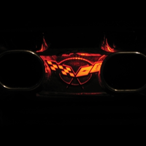 Corvette Exhaust Plate LED Lighting Kit : 1997-2004 C5 & Z06