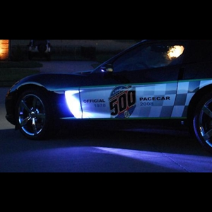Corvette Side Cove LED Lighting Kit with (4) Function Remote : 2005-2013 C6, Z06, ZR1