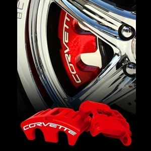 Corvette Brake Caliper Package - Powder Coated Exchange : 1997-2004 C5 & Z06