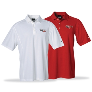 Corvette Polo - 60th Anniversary Nike DriFit
