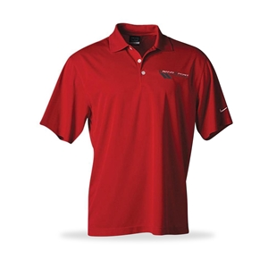 Corvette Polo - Grand Sport Nike DriFit - Grey, Black or Red