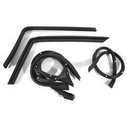 Corvette Weatherstrip Kit. Hardtop 4 Piece - USA: 1968-1975
