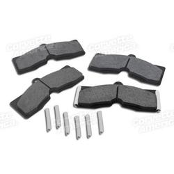 Corvette Brake Pad Anti-Squeak Kit. 8pc: 1965-1982