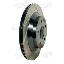 Corvette Brake Rotor. Front 12- LH Power Slot: 1988-1995