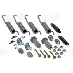 Corvette Brake Shoe Hardware Kit. Rear: 1953-1962