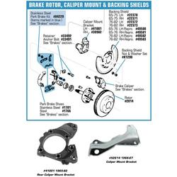 Corvette Caliper Changeover Kit Front O-Ring: 1965-1982